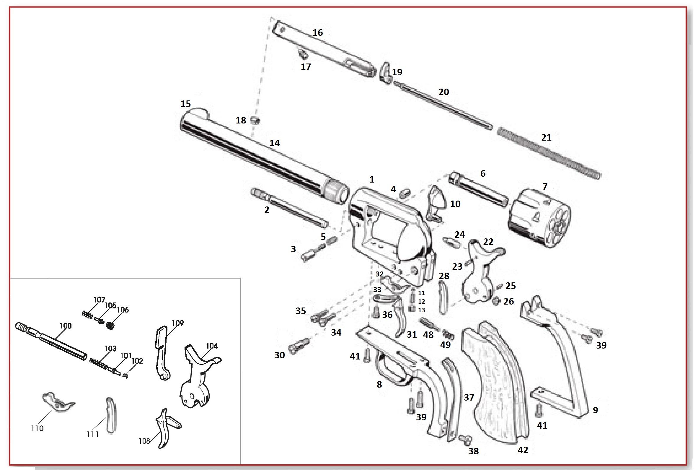 Pietta Single Action Parts - EMF Company