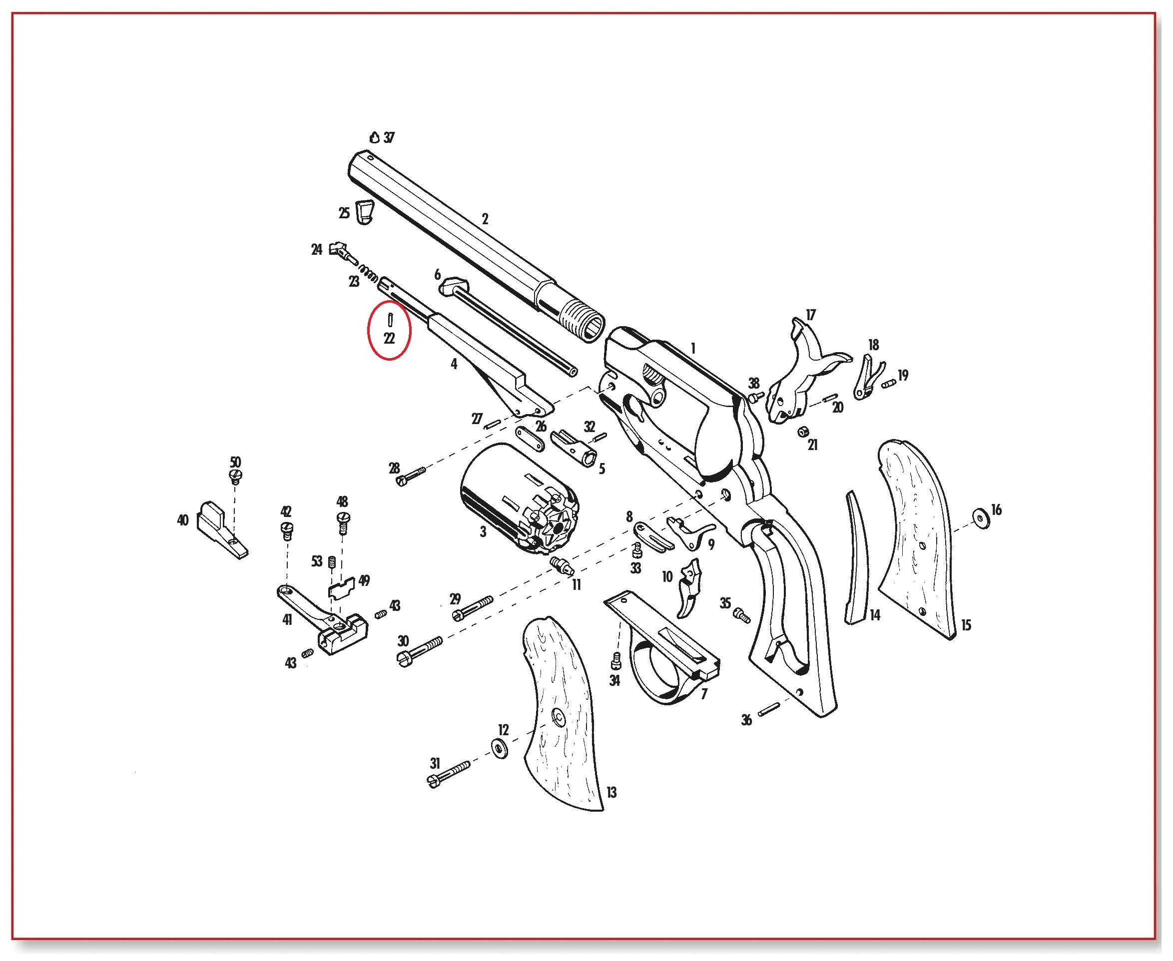Remington Shotgun Parts Diagram Wiring Diagrams For Dummies Info Shotguns Remingtonshotguns Remington870 Remington870diagram 22 1858 62 Loading Lever Latch Pin 870 58