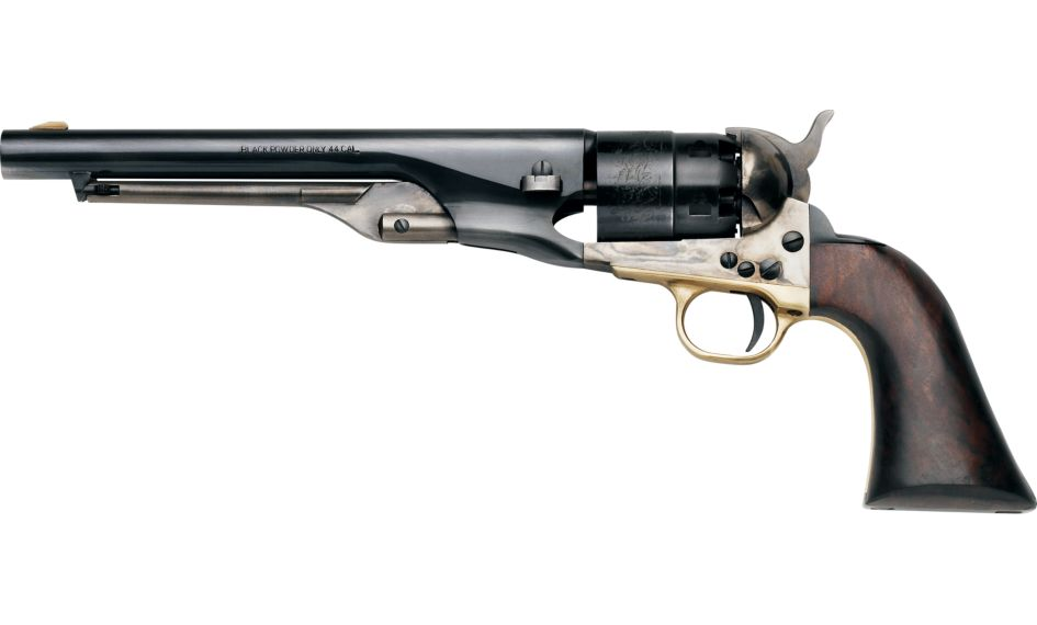 """1860 ARMY """"OLD WEST"""" STEEL .44 8"""